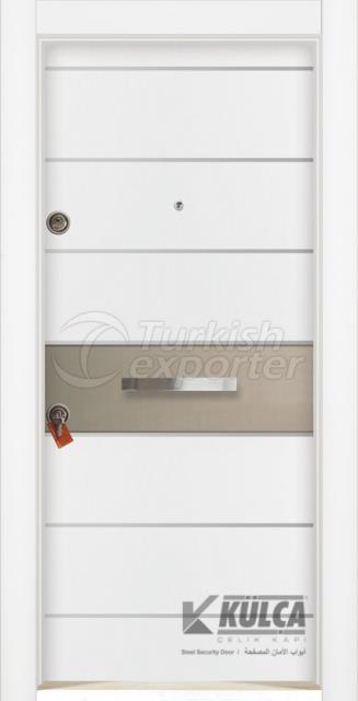 D-2020 (PVC STEEL DOOR )