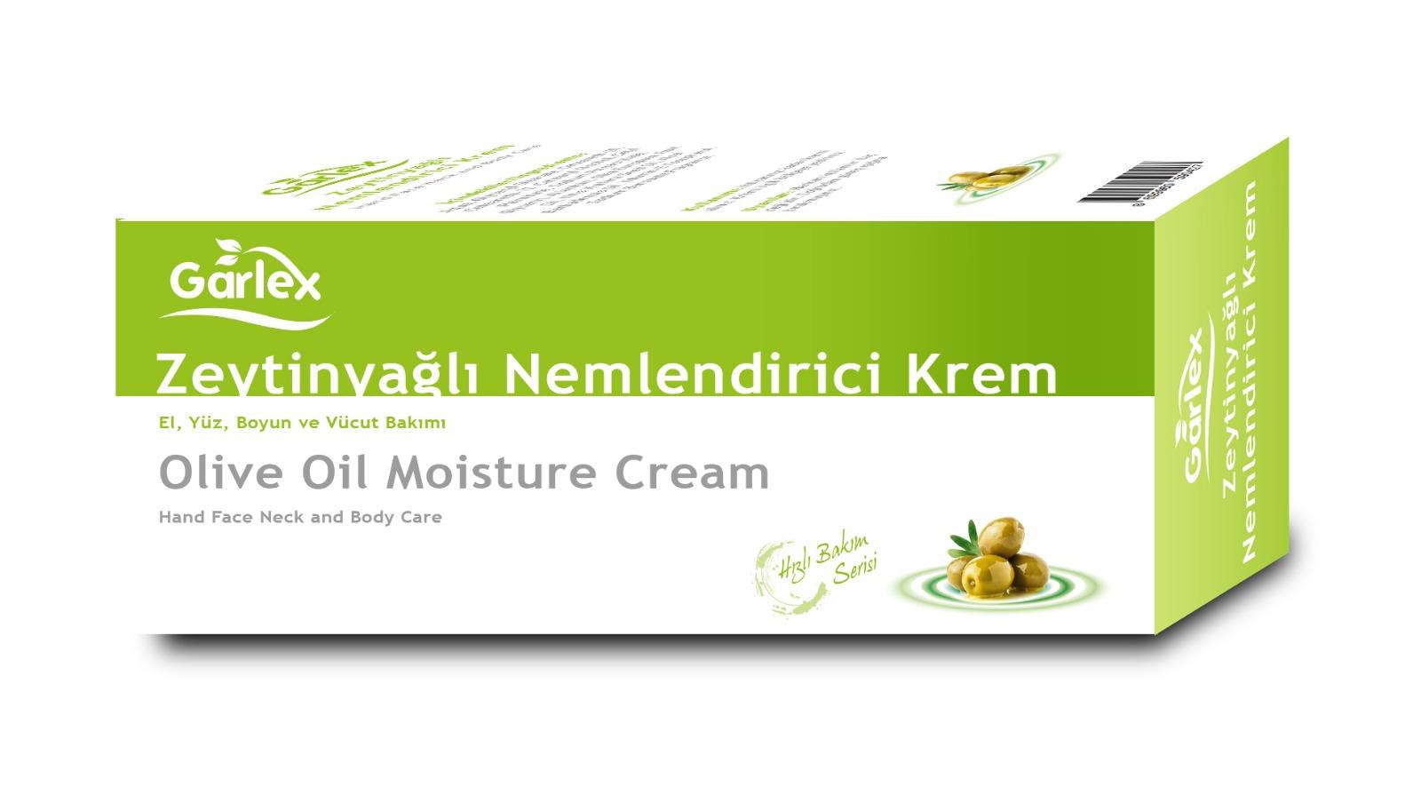 Crema Hidratante de Aceite de Oliva