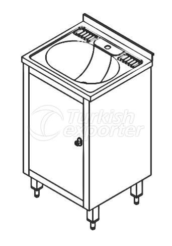 HAND WASH SINK w/ SOAP DISH