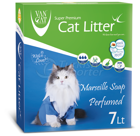 Cat Litter -Marsille Soap Perfumed