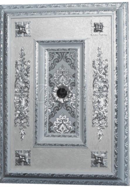 Artistic Ceiling whitesilver 70x100