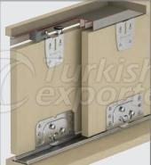 Adjustable Sliding Door System M03 7010