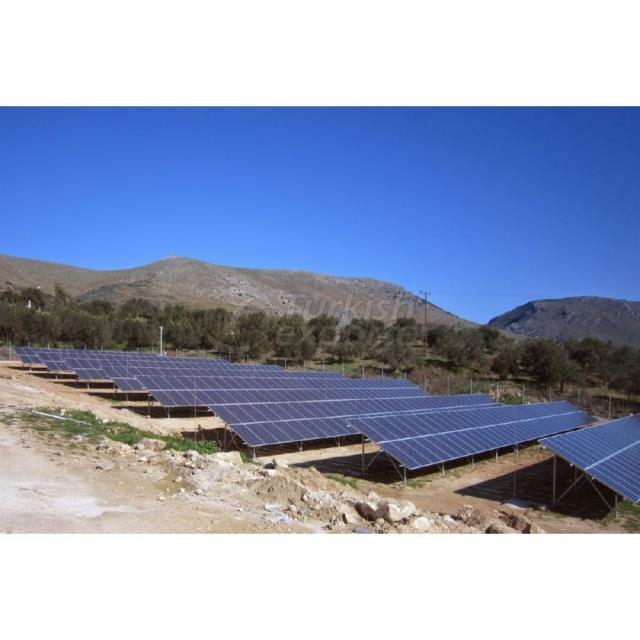 Génération d'électricité à énergie solaire