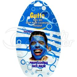 Máscara Facial Natural Sachet 25 ml Gutto Essential