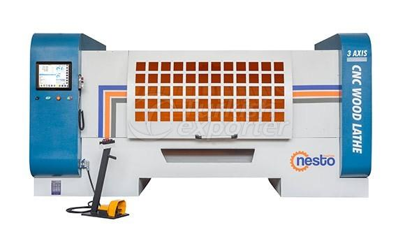 CNC Wood Lathe Machines