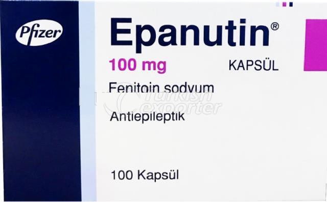 EPANUTIN 100 MG 100 CAPSULES