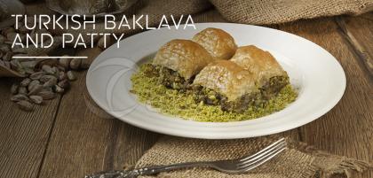 Turkish Baklava and Patty