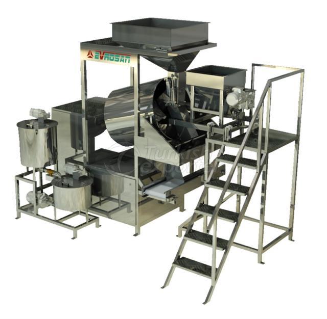 Nuts Salting Seasoning Machine