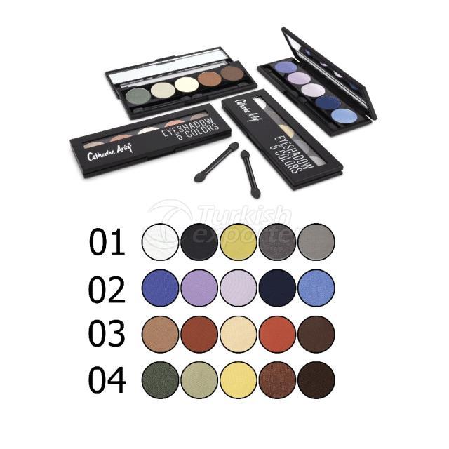 Palette Eyeshadow 5 Colors