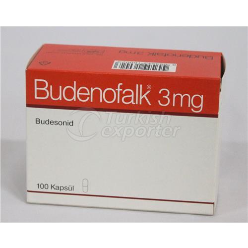 BUDENOFALK 3 MG 100 CAPSULES