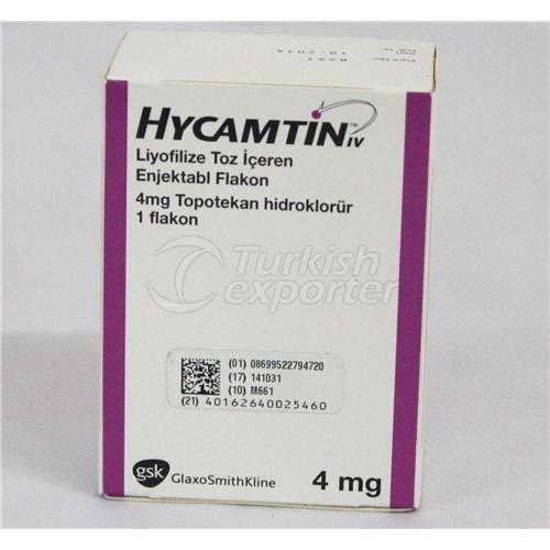 HYCAMTIN 4 MG -1- VIAL