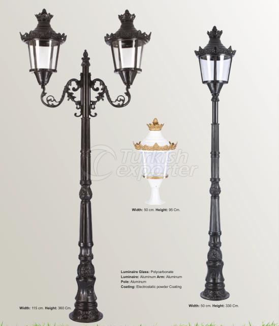 Victorian Style Lamp Post