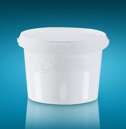 Round Packages Bucket 2,25LT