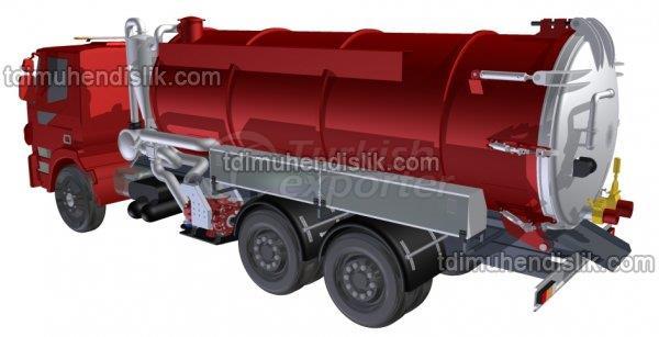 Caminhão de sucção de esgoto VS Series