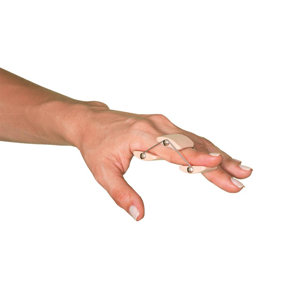 Férula de dedo y botón
