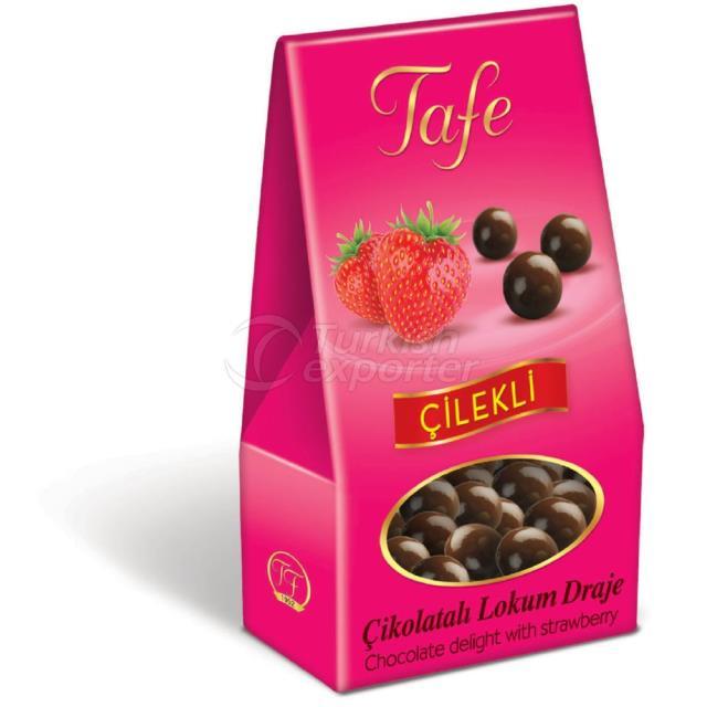 1247 Code Chocolate Delight avec Fraise 60g