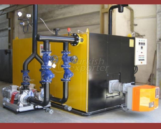 Sıvı-Gaz Yakıtlı Kızgın Yağ Kazanları