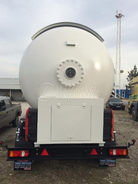 LPG Semi Trailer Tanker