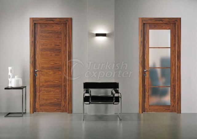 Wooden Glass Door MCK-05
