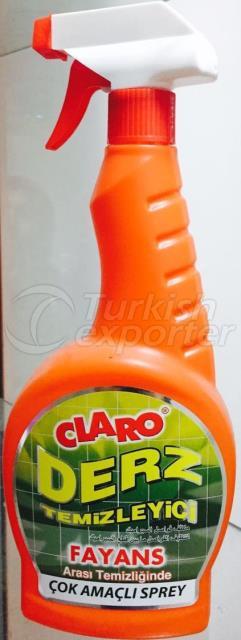 Claro Derz Grout Cleaner 750ml