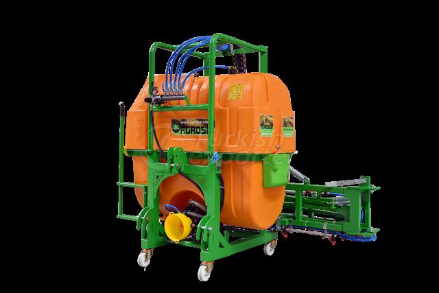 Mounted Type Hydraulic Lifted Field Sprayer 1000 Lt