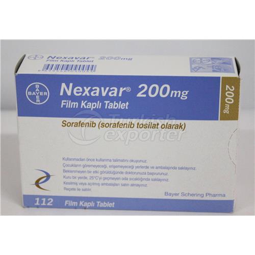 NEXAVAR 200 MG 112 TABLETS