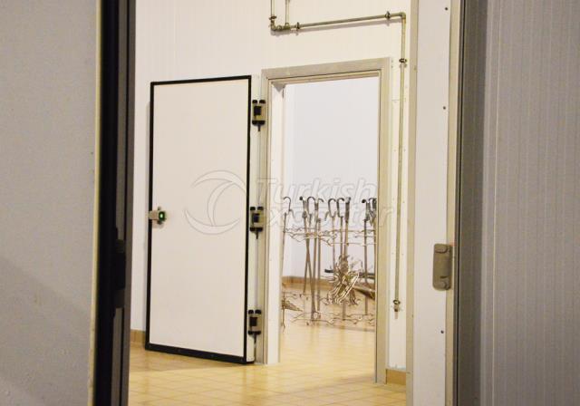 Soğuk Depo Kapıları - Çarpma Tip