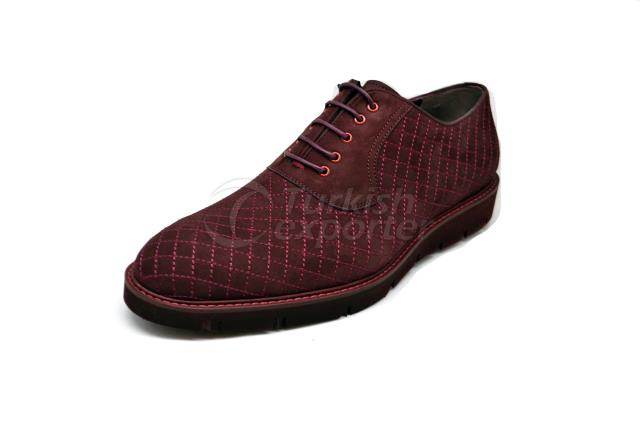 3675 Burgundy Ayakkabı