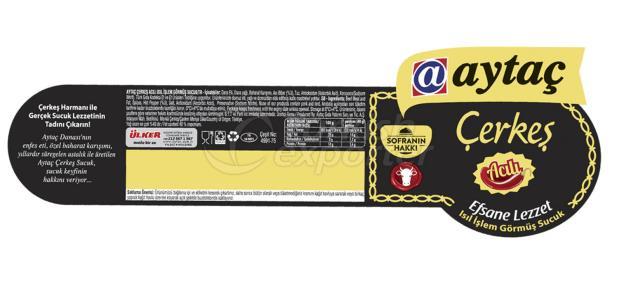 Aytac sausage label