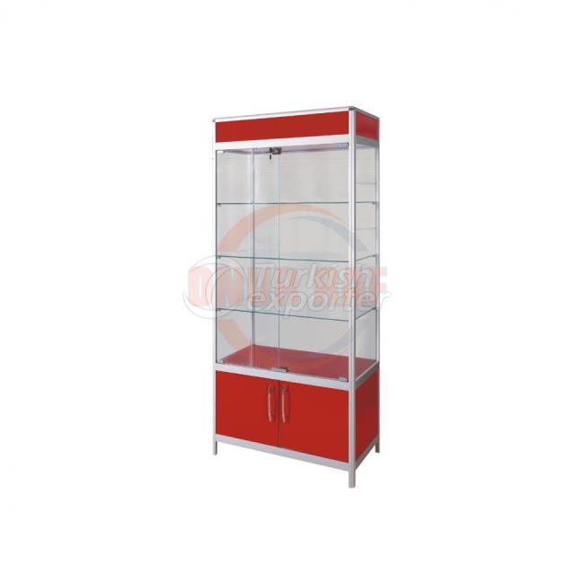 Aluminum Display Cabinet