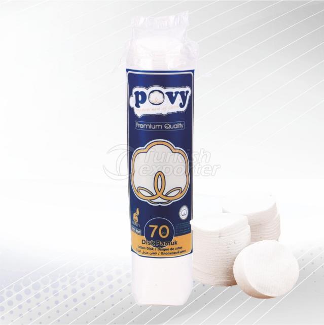 Cotton Disk 70 pcs