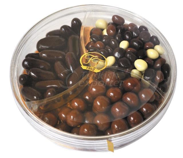 Mélange enrobé de chocolat Dragee 1137