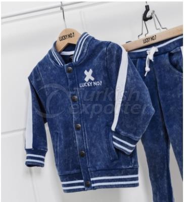 Denim Jogger Child Jacket