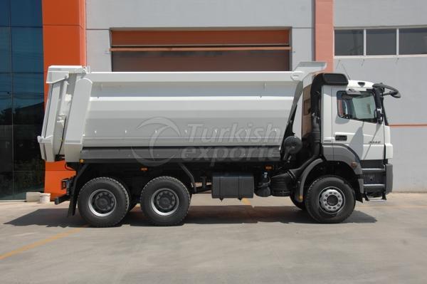 Camión montado medio tubo Dump01