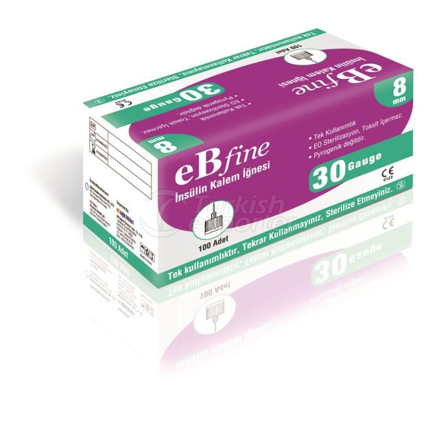 eBfine Insulin Pen Needles (4-5-6-8 mm)