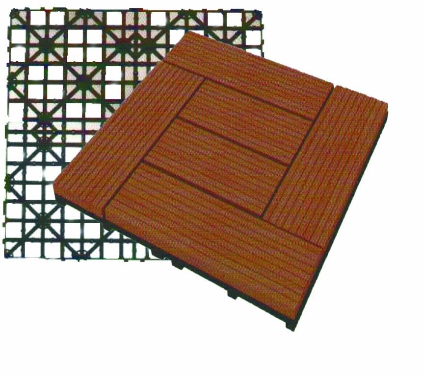 Plastique de plancher de terrasse
