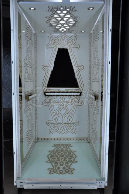 Cabina elevadora Yukselis - Sarpa