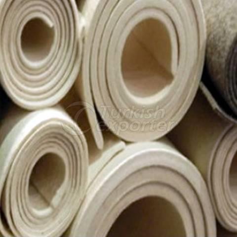 Feltro de lã prensado