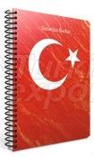 Spiral Cardboard Cover Notebook