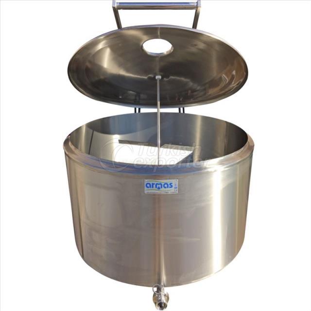 1.500 Liter Milk Cooling Tank