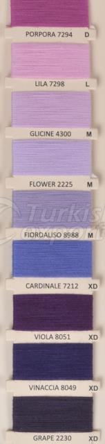 Color Cards Grape