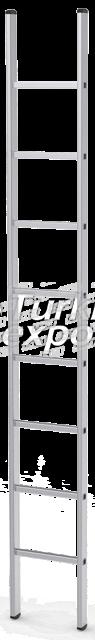 One Piece Aluminium Ladder