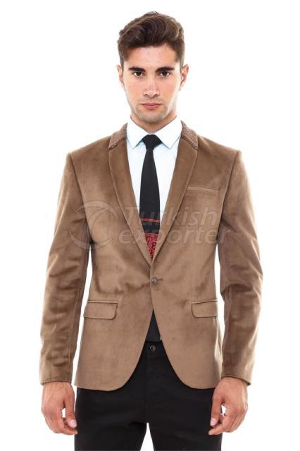WSS Wessi Zipper Velvet Jacket