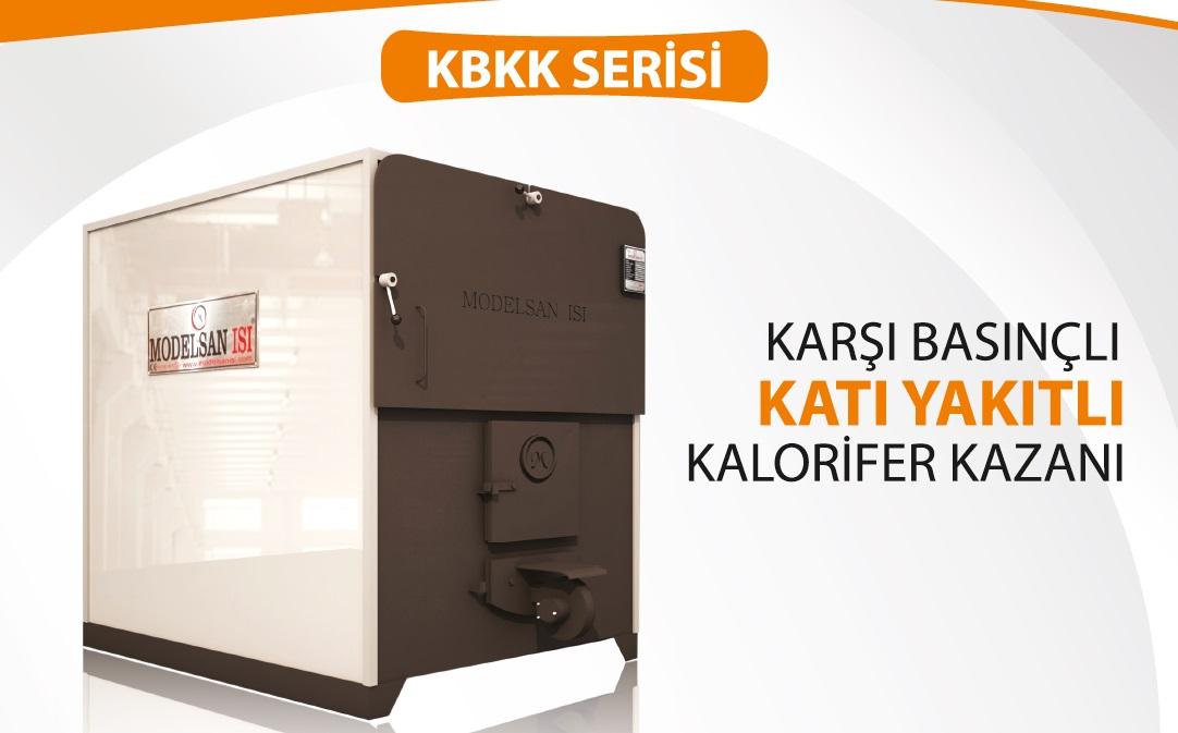 Counter Pressure Solid Fuel Heating Boiler KBKK Series