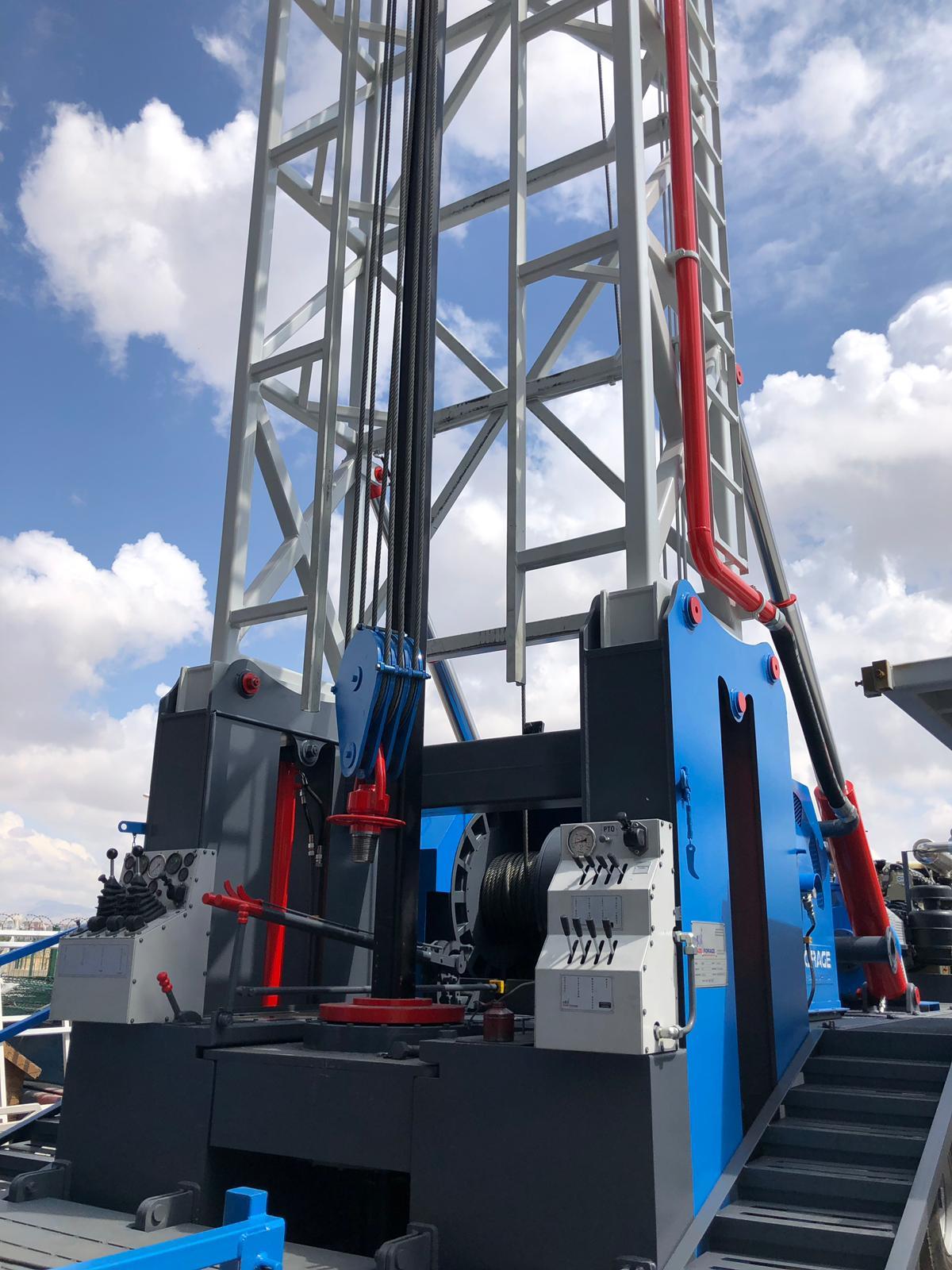 500 Meter Water Drilling Rig