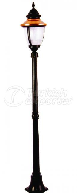 Single Lighting Poles