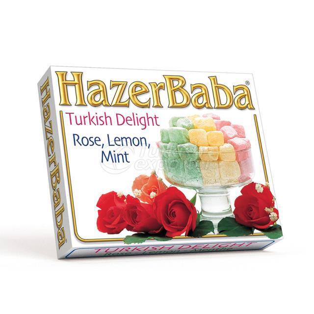 Rose, Lemon, Mint Turkish Delight