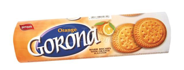 Gorona Marie Biscuit with Orange