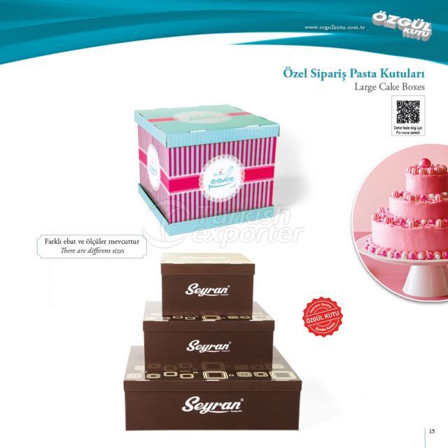 Özel Sipariş Pasta Kutuları