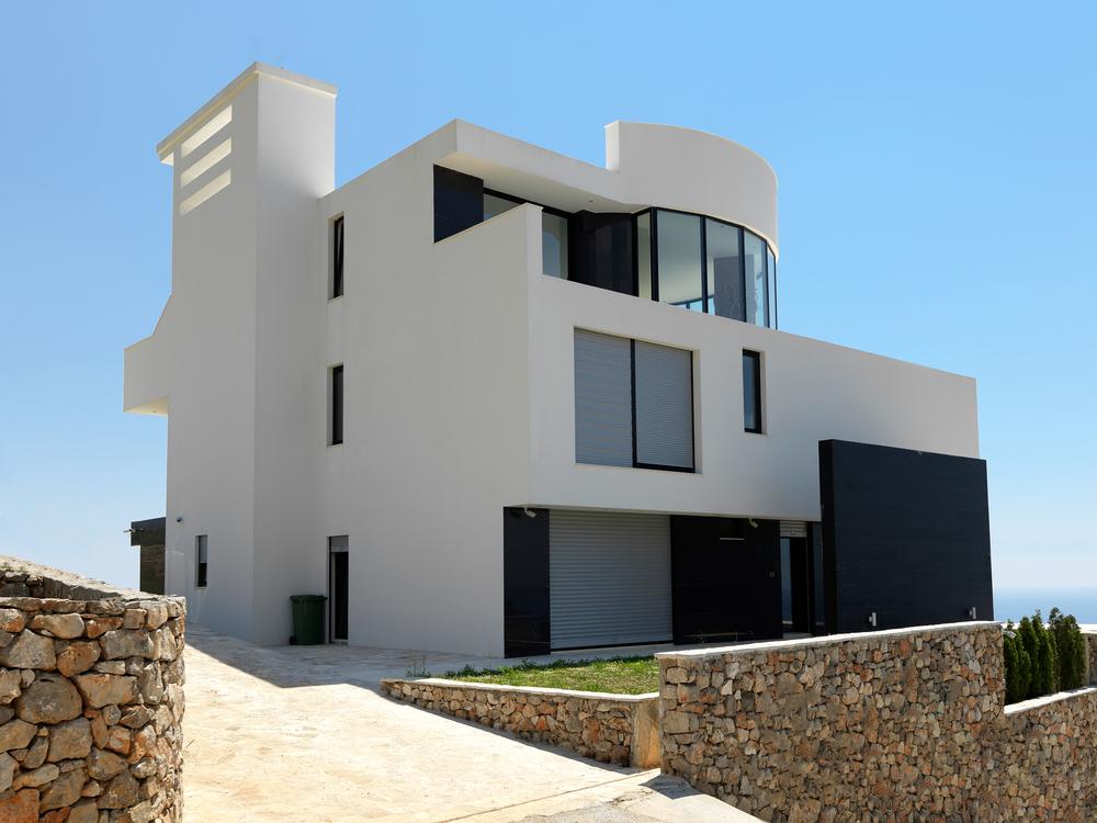 Modern Steel Villa